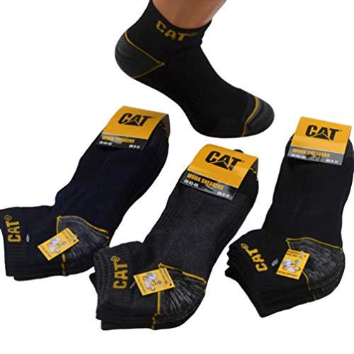 Caterpillar Sneaker Socken CAT 6|12|18 Paar (12, 47-50 schwarz)