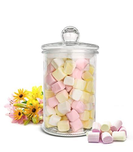 Sendez Vorratsglas 3000ml Vorratsgefäß Glasbehälter Aufbewahrungsglas Bonboniere Keksdose Einmachglas
