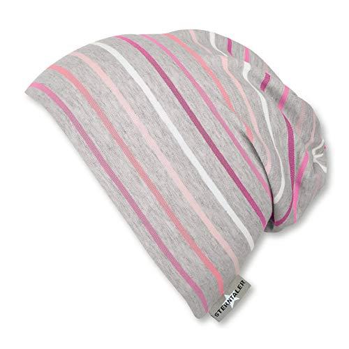 Sterntaler Mädchen Slouch-Beanie Mütze, Pink, 55