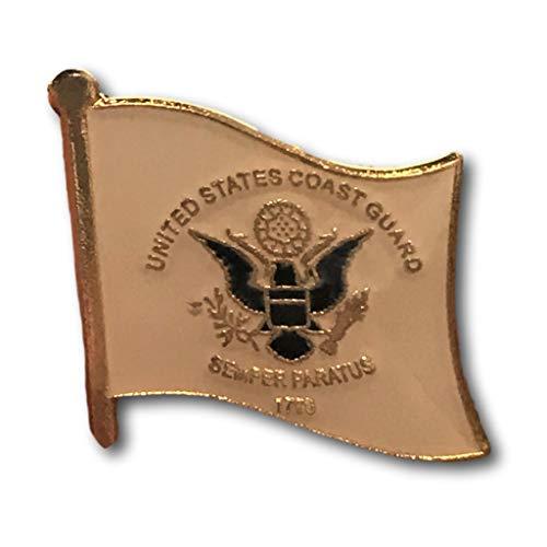 Backwoods Barnaby Anstecknadel Flagge der USA-Küstengarde