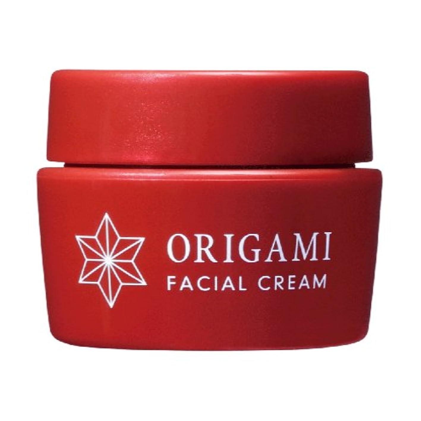 世界的に意気揚々意欲ORIGAMI フェイスクリーム 米麹エキス、米酢発酵エキス配合フェイシャルクリーム 30ml