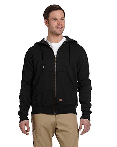 Dickies - TW6303 thermique bordée à capuche Veste, Large, Black