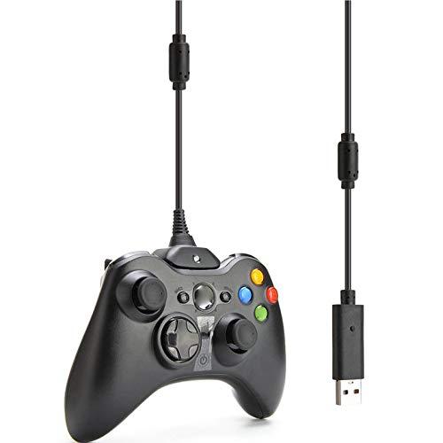 itYukiko Cavo di Ricarica e Ricarica per Caricabatterie USB per Controller Wireless Xbox 360