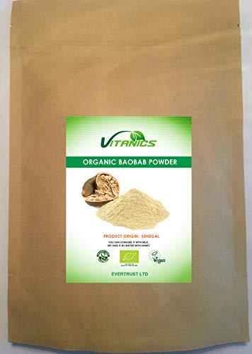 Organic Baobab Fruit Powder (400g)