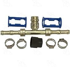 Four Seasons Burgaflex Straight Splice Hose Repair Fitting Kit w/High Side R134a Service Port (15107)