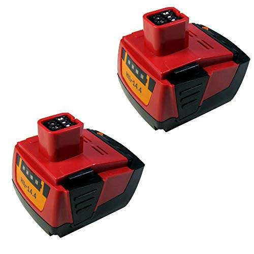 2X Premium Li-Ion Akku, 14,4V 3000mAh ersetzt Hilti B144 B-144 für Hilti SF 144-A SF144-A SF 144A SFH 144-A SFH 144-A SFH 144A SFL