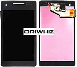 ORIWHIZ LCD Screen +Touch Screen Digitizer Assembly Without Frame Mobile Phone Repair Part for Sony Xperia V LT25 LT25i(Black)