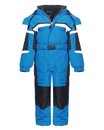 PM Kinder Outdoor Skianzug Snowboard Unisex Jungen Mädchen Funktionsanzug Hardshell Schneeanzug Winter LB1217-Blau-128