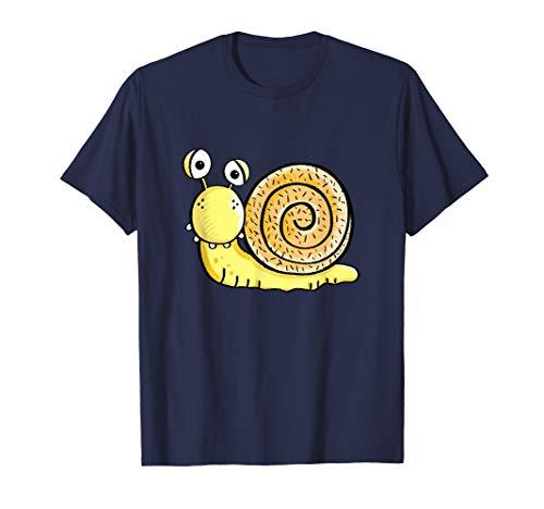 Verrückte Schnecke I Schnecken Vieh Motiv Fun Schneckchen T-Shirt