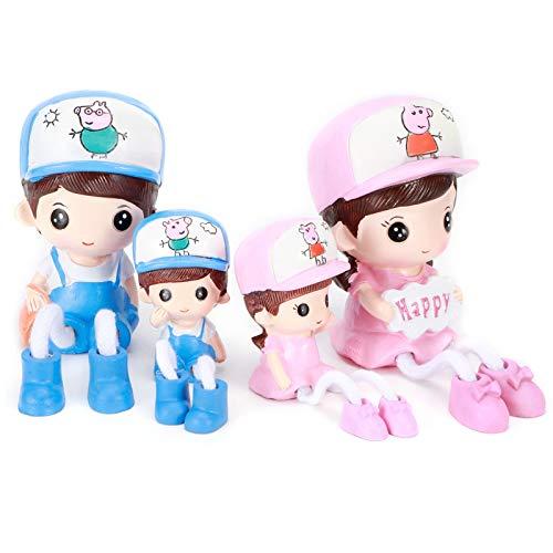 Dolls Craft, Hängende Puppenverzierung, Langlebig Fein für Home Desktop Cabinet Restaurant Office Coffee Shop