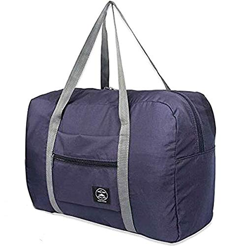 Foldable Large Travel Duffel Duffle Bag Overnight Carryon Bag Weekend Bag Water Rresistant