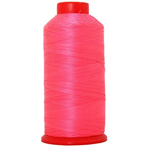 Best Review Of New Product – NEON Colors Bonded Nylon Thread #69 UPHOLST ERY Canvas Leather 1650YD Cones TEX70 – Coral