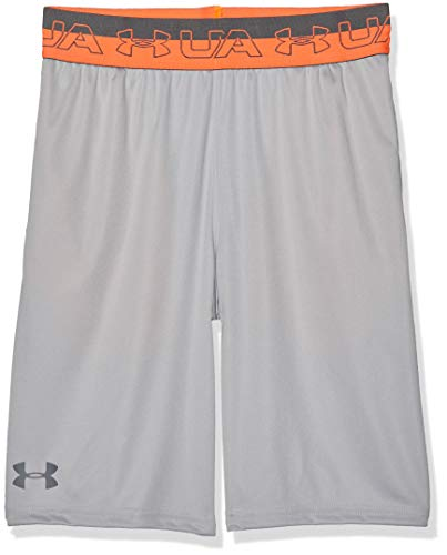 Under Armour Jungen Prototype Elastic Short Kurze Hose, Grau, YLG