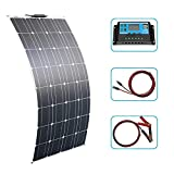 100W / 200W / 300W Kit de panel solar flexible 12V Panel solar...