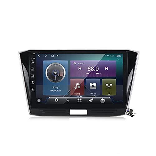 Gokiu Android 10 2 DIN Radio De Coche Navegacion GPS para VW Passat B8 Magotan 2015-2018 Soporte 5G WiFi DSP/FM Am RDS Radio de Coche Estéreo Carplay Android Auto/Bluetooth SWC,M600