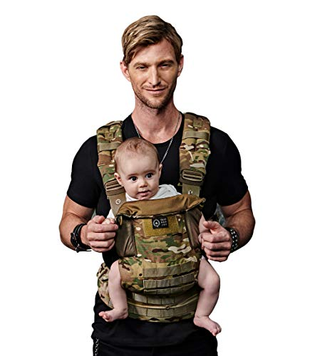 QuokkaJoy 2.0 Baby Carrier, Infant Carrier for Newborns 9.5-44 Pounds, Face in and Out, Camo