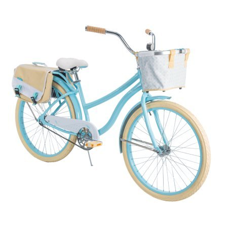 Huffy 26' Marietta Women's Cruiser Bike with Perfect Fit Frame, Blue