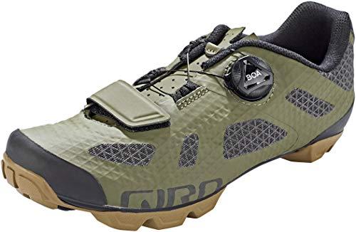 Giro Rincon Men's Mountain Cycling Shoes - Olive/Gum (2021) - Size 45