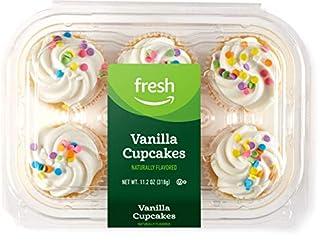 Fresh Brand – Vanilla Cupcakes, 11.2 oz (6 ct)