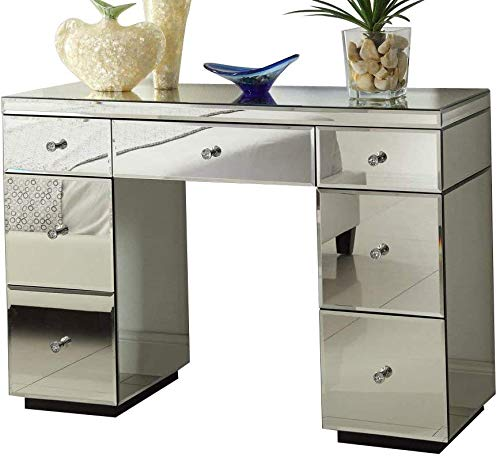 Dressing table Furniture Glass With Drawer Console Bedroom Mirror