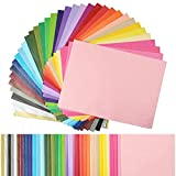 Simetufy 360 Sheets 36 Multicolor Tissue Paper Bulk Gift Wrapping Tissue Paper Decorative Art Rainbow Tissue Paper 12' x 8.4' for Art Craft Floral Birthday Party Festival Tissue Paper Pom Pom
