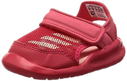 adidas Performance BA9373/BA9378 Forta Swim C Mädchen Baby Badeschuh Mesh Klett, Groesse 27, pink