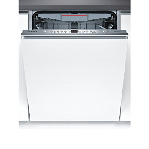 Bosch Serie 4 SMV46MX00E Fully built-in 14place settings A++ dishwasher - Dishwashers (Fully built-in, Full size (60 cm), Grey, Buttons, 1.75 m, 1.65 m)