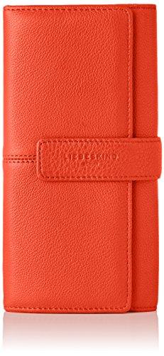 Liebeskind Berlin Damen Leoniels8 Core Geldbörse, Rot (Summer Red), 4x19x11 cm