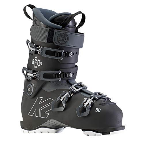 K2 Skis Herren Skischuhe BFC 80-Anthracite-Schwarz-EU: 39 (US: 6.5-UK: 5.5-Mondo: 245) -10D2203.1.1.245