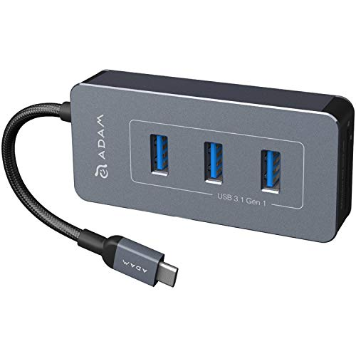 CASA Hub PDC601 ADAM elements 6 in 1 USB-C USB Type-C ハブ アダプター ドッキングステーション USB PD ...