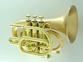 carol brass pocket trumpet