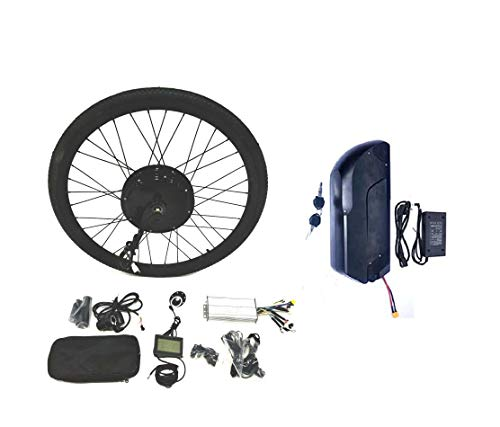 theebikemotor LCD + Tire + 48V1200W Hub Motor 15AH Panasonic Cell Li-on...