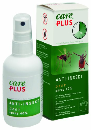 Care Plus Anti-Insectes DEET 40% en Spray 60 ML
