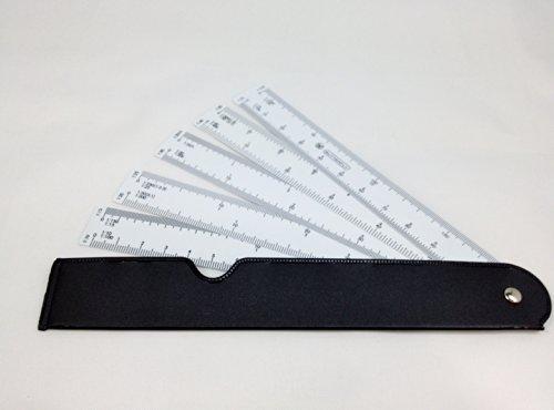 薄型 5枚 羽 自在 マルチ スケール  縮尺 10種類 対応