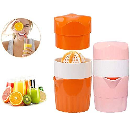 Zuzer Manual Juicers, 2pcs Entsafter Easy Juice Saftpresse Manuell Tragbarer Juicer Küchenwerkzeug