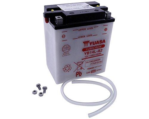 Batteria YUASA - YB14L-A2 per MOTO GUZZI V7 750 ccm