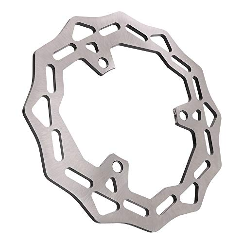 Motorcycle Rear Brake Disc Rotor Steel For Kawasaki EX500 Ninja D1-D3/EX500S Ninja R D4-D12/GPS500S D1-D9 E1-E10/Ninja 500 D1-D3 D4-D12,D6F-D9F/ZR 250 A1-A5 A6-A8 Street Bike Enduro Accessories