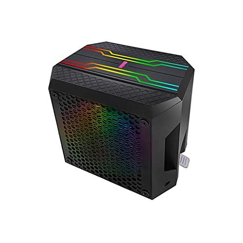 ZRJ Cpu Cooler Dual CPU Fan CPU CPU Cooler RGB Motherboard Control Ventilador de refrigeración Placa base Sincronización 4 Heatpipes CPU Aire Cooler 92mm PWM Ventilador Cpu Cooler