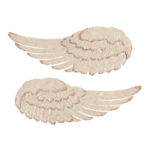 Angel Wings Wall Decor (Metal) Art and Home Decor