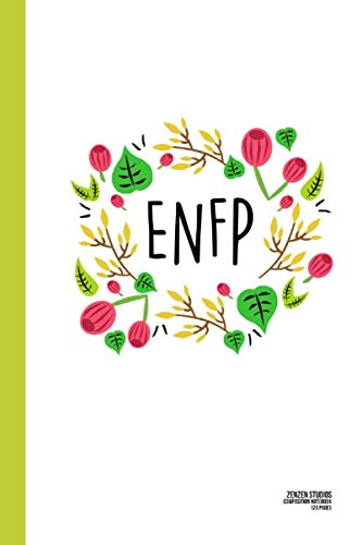 ENFP Flower and Leaves: A Personality Themed Notebook Journal