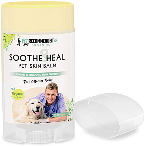 Soothe & Heal Balm for Dogs & Cats - Organic & Vegan Ingredients to Relieve Skin Irritations Fast....