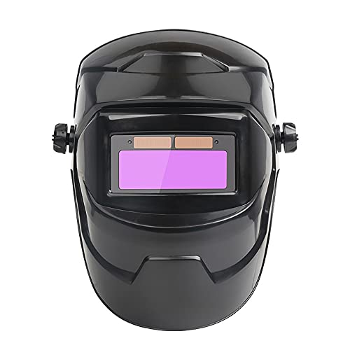 NGHSDO Careta Soldar Automatica Mascarilla de Soldadura Anti-UV Ojos automáticos Gafas Gafas solares Lente Soldadura Casco fotoeléctrico para construcción Trabajo de Soldadura Mascaras De Soldar