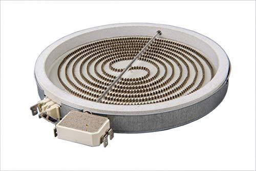 BSD Calefactor de Hornilla Placa Cocina Vitrocerámica 210mm 2300W