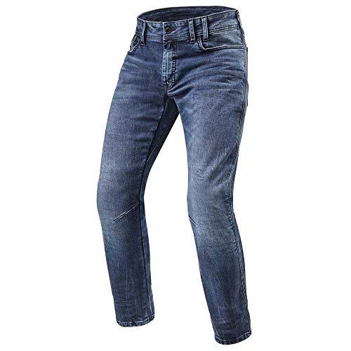Revit Urban Jeans Detroit TF Medium Blue L34, Size 33 | FPJ036-6351-33