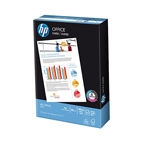HP A4 80gsm Office White Copier Printer Paper Laser Inkjet - 500 Sheets 1...