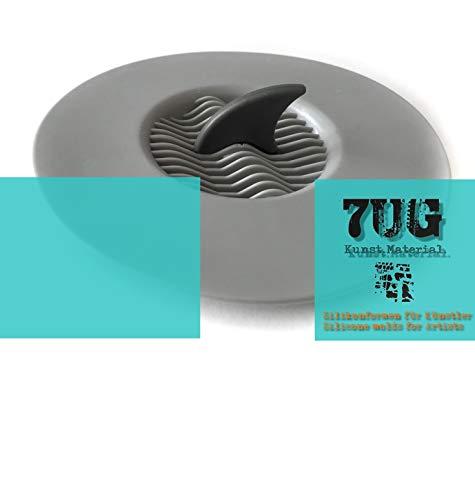 7UG Pouring-Hai/Sieb für effektvolle Pouring Techniken, Giesstechnik, Acrylfliesstechnik,Fluid Acrylics