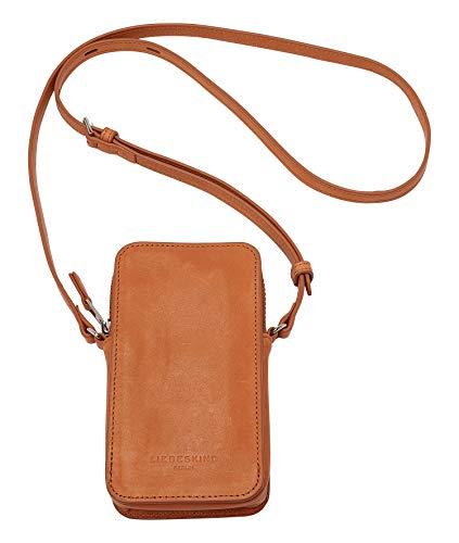 Liebeskind Berlin Jodie Mobile Pouch Taschenorganizer, Small (17.5 cm x 9.5 cm x 2cm), golden amber