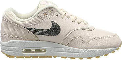 Nike Damen WMNS Air Max 1 PRM Laufschuhe, Mehrfarbig (Guava Ice/Guava Ice/Gum Yellow 800), 38.5 EU