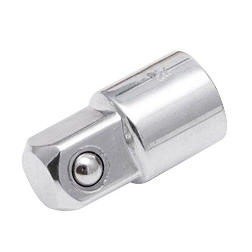 Qinghengyong Craftsman 1/4 Loch 3/8 Kopfadapter Chrom-Vanadium-Stahl Reduzierungen Converter-Tool Craftsman Reduzierungen Erweiterungen Sockets Converter Tool 1