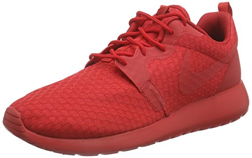 Nike Roshe One Hyperfuse Herren Sneakers, rot (university red/unvrsty red-blk), 45.5 EU
